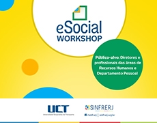 Lembrete Workshop eSocial
